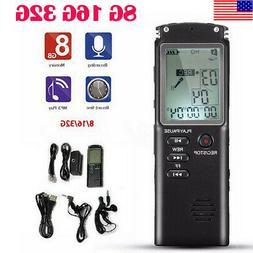 Digital Audio Sound Voice Recorder Pen Dictaphone MP3 Player