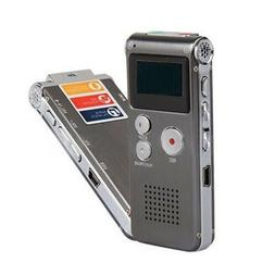 Digital Audio Voice MP3 Dictaphone Recorder Pens Stereo Reco