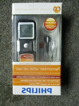Philips Digital LFH0645 Digital Voice Recorder, New In Box.