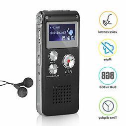 Digital Mini Spy Voice Sound Recorder Dictaphone Small Handh