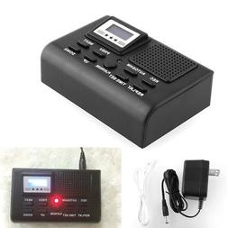 Digital Telephone Call Phone Voice Recorder LCD Display w/ S