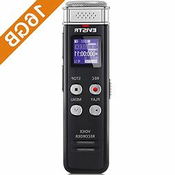 Digital Voice Activated Recorder 16GB With Playback Audio Re