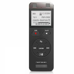 Digital Voice Activated Recorder Yemenren 8GB Sound Audio Re