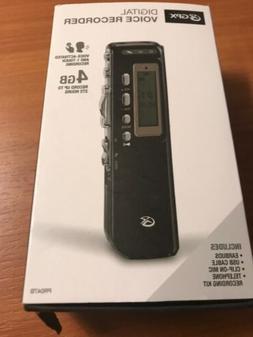 GPX Digital Voice Recorder 4 GB