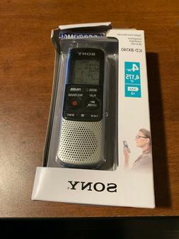 SONY Digital Voice Recorder 4GB internal memory 4175 record