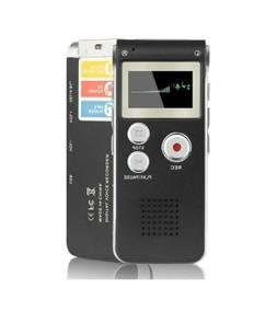 Digital Voice Recorder 8GB Audio Voice Activated MP3 Player