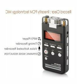 EVISTR Digital Voice Recorder 8GB L53