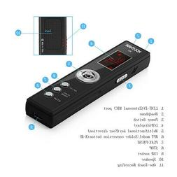 Digital Voice Recorder Activated HD LCD Sound Audio Dictapho