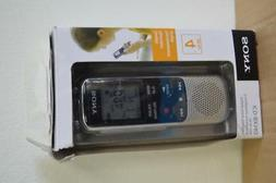 Sony Digital Voice Recorder ICD-BX140 4GB/Go in box  -
