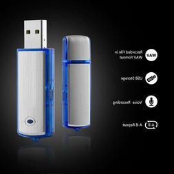 Digital Voice Recorder Mini Voice Recorder with 8GB USB Flas