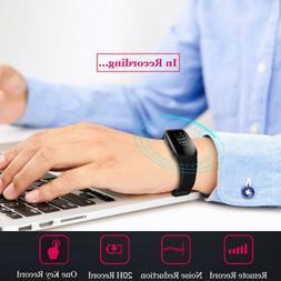 Digital Voice Recorder Wrist Watch Wristband Business Audio