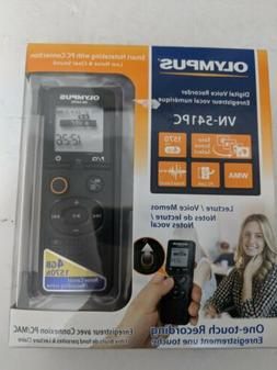 Olympus digital voice recorder VN-541PC With PC Link 4GB Bla
