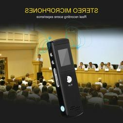 Digital Voice Recorder with Mic LCD Voice Activated Recorder