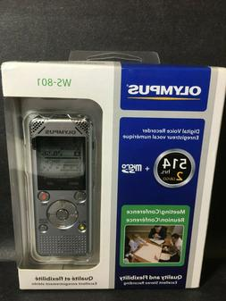 digital voice recorder ws 801 brand new