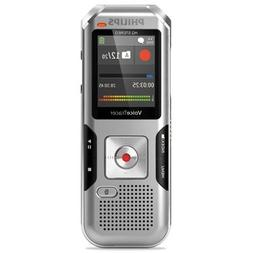 Philips DVT4010 Voice Tracer 4010 Digital Recorder, 8 GB, Si
