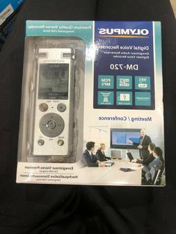 Olympus DM 720 4GB Premium Quality Stereo Digital Voice Reco