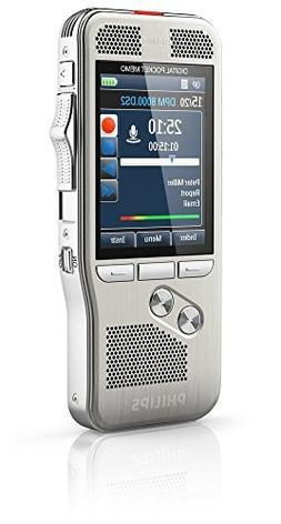 Philips DPM-8000 Professional Digital Pocket Memo with Cradl