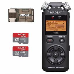Tascam DR-05 Portable Digital Recorder w/SanDisk 32GB Card 2