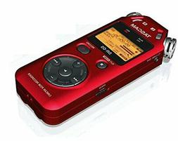 TASCAM DR-05R PORTABLE DIGITAL RECORDER-RED