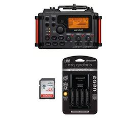 Tascam DR-60D MKII Portable Recorder for DSLR - Bundle with