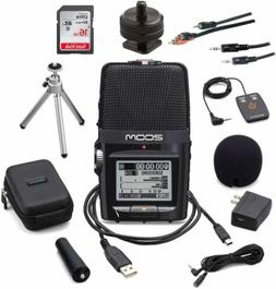 h2n portable digital voice recorder bundle