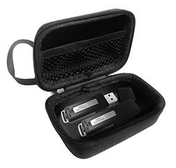 FitSand Hard Case for FlatLED Digital Audio Voice Recorder U