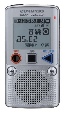 Olympus Ic Recorder Voicetrek 2gb Two Aaa Batteries Use Silv