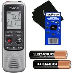 Sony ICD-BX140 MP3 4GB Digital Voice IC Recorder + 2 AAA Bat