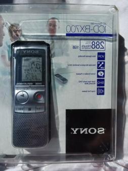 Sony ICD-BX700  Handheld Digital Voice Recorder / NIP