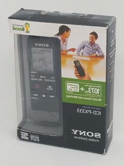 Sony ICD-PX333 Digital Voice Recorder 4GB Internal Flash Mem