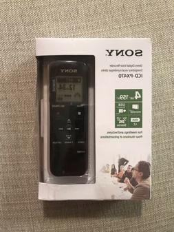 Sony ICD-PX470 4GB Digital Voice Recorder  Package Box Sligh