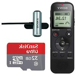 Sony ICD-PX470 Stereo Digital Voice Recorder with Built-in S