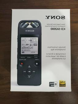 Sony ICD-SX2000 High-Resolution Portable Audio Recorder