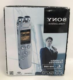 Sony ICD-SX713 High Quality Digital Voice Recorder Linear PC