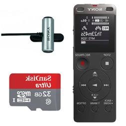 Sony ICD-UX560 Digital Voice Recorder with Built-in USB  and