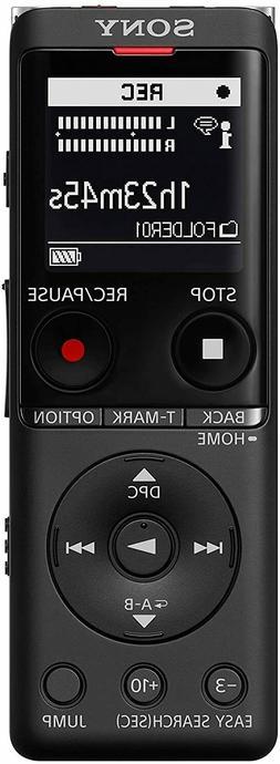 Sony ICD-UX570 Portable Digital Voice Recorder Black UX Seri