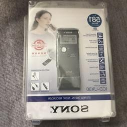 Sony ICD-UX80/BC Digital Voice Recorder with MP3 Stereo Reco