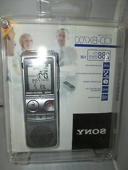 SONY ICDBX700 1GB Digital Voice Recorder: ICD-BX700