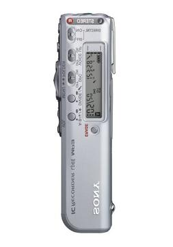 Sony ICDSX46VTP - 128MB Digital Voice Recorder w/ MP3 Playba