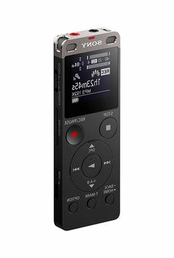 Sony ICDUX560BLK Stereo Digital Voice Recorder with Built-in
