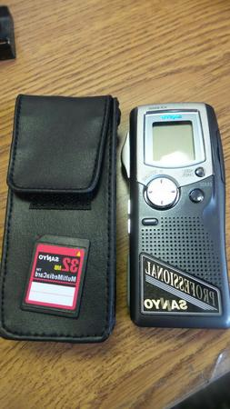 Sanyo ICR-B5000  Handheld Digital Voice Recorder