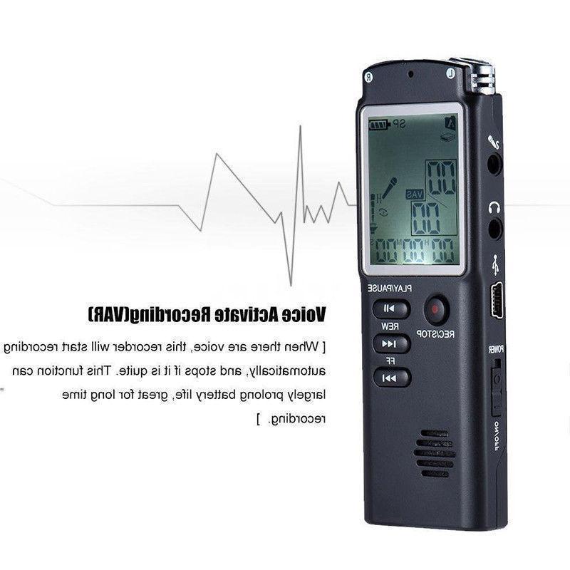 16GB Digital Sound Dictaphone MP3