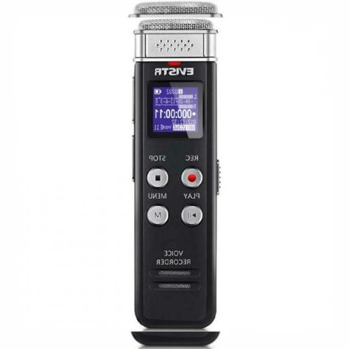 16gb digital voice activated recorder for interviews