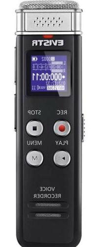 EVISTR 16GB Digital Voice Recorder Dictaphone Activated Reco