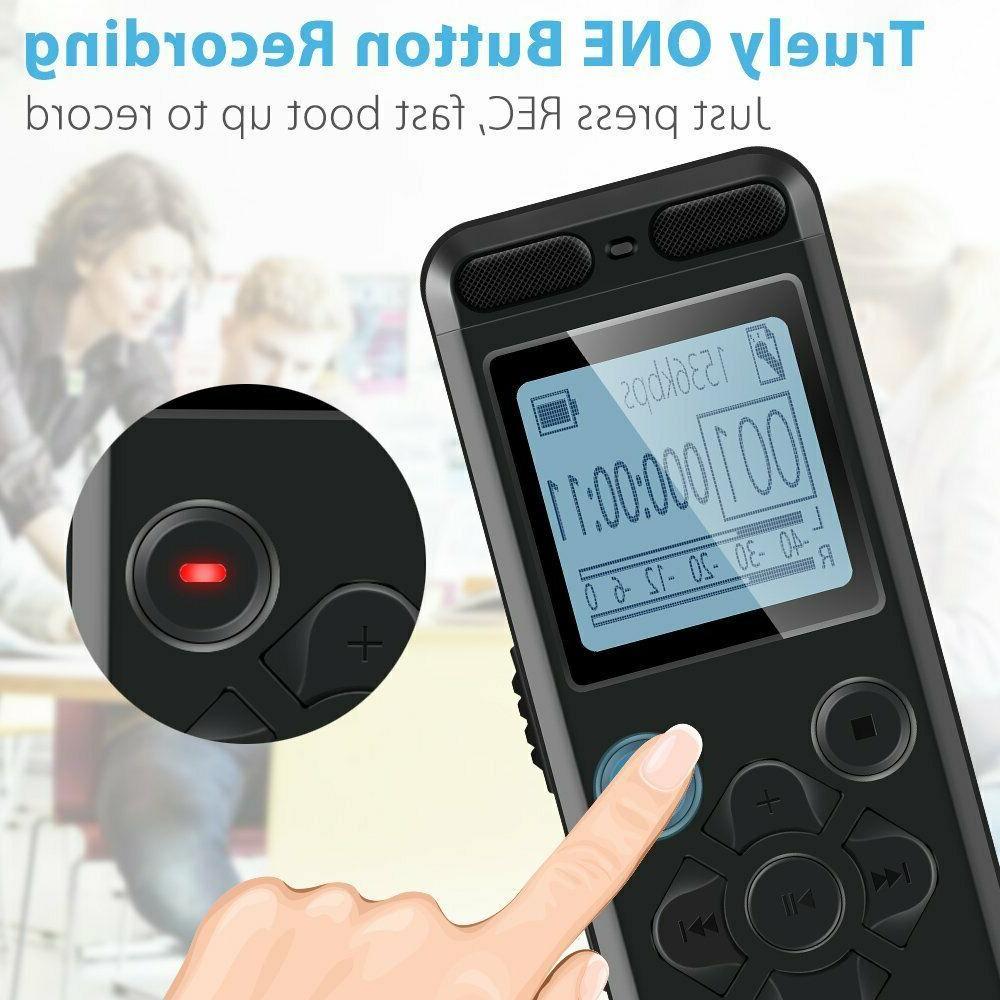 EVISTR 16gb Recorder Portable Recording