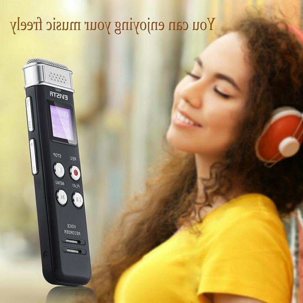 EVISTR Digital Voice Recorder Activated Recorder with Playback