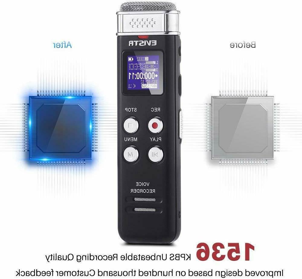 EVISTR 1536kpbs Digital Recorder Activated