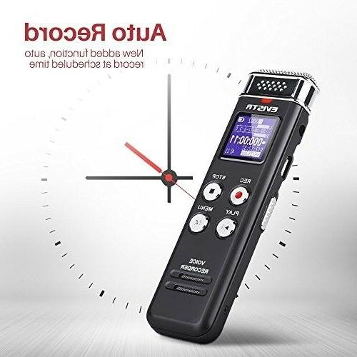 EVISTR Voice Recorder Activated Playback - Upgr