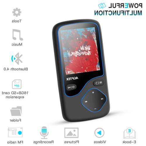 AGPTEK Bluetooth Portable Lossless FM