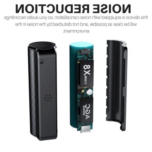16GB Spy Device Spy Voice Activated Mini Microphone Audio